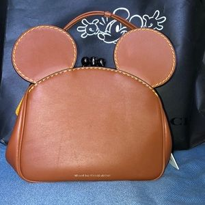 Limited Edition Disney x Coach Kisslock Bag